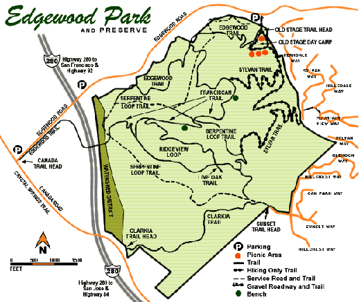 Edgewood County Park And Natural Preserve