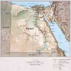 Maps Egypt Map D - Map of egypt 3d