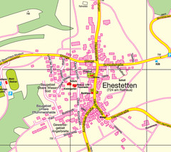 Ehestetten Map