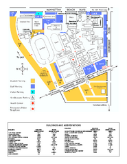 El Camino College Campus Map