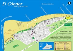El Condor Tourist Map