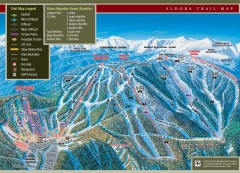 Eldora Mountain Ski trail Map