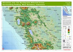 Elevation Over the Earthquake -Affected Areas...