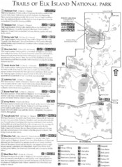Elk Island National Park Trail Map