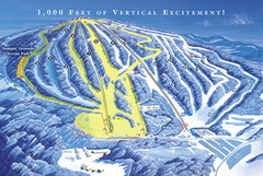 Elk Mountain Ski Trail Map