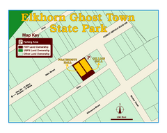 Elkhorn Ghost Town State Park Map