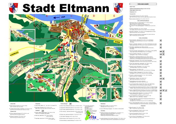 Eltmann Tourist Map