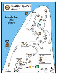 Emerald Bay State Park Campground Map