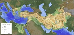 Empire of Alexander Map 334-323 BC