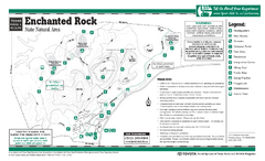 Enchanted Rock, Texas State Park Facility and...
