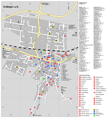 Endingen Tourist Map