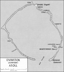 Eniwetok atoll Map