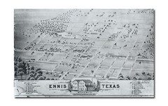 Ennis City Map