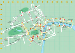 Ensignbus Sightseeing Bus Route Example Map