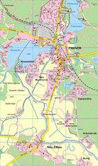 Erkner Map