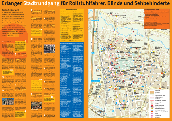 Erlangen Tourist Map Erlangen Germany mappery – Nuremberg Tourist Map