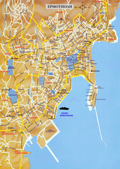 Island of Syros Map Syros mappery