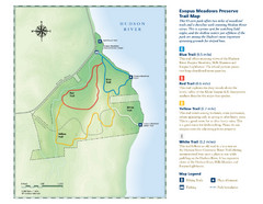 Esopus Meadows Preserve Trail Map