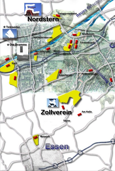 EssenNord Map Essen mappery