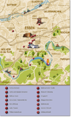 Essen Region Tourist Map