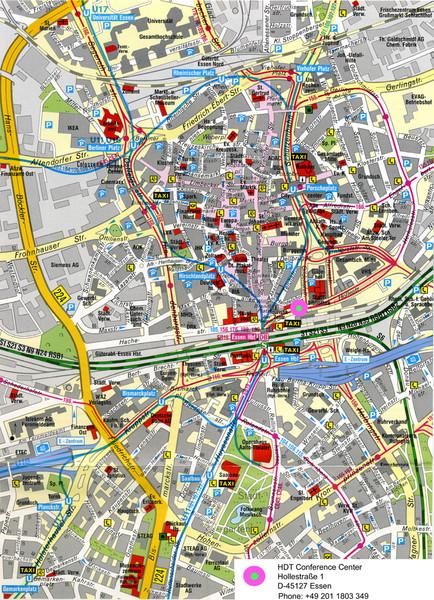 Essen Street Map Essen Germany mappery