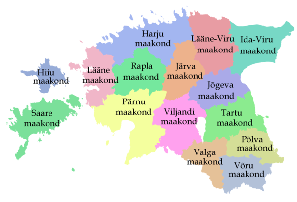 Estonia maps mappery