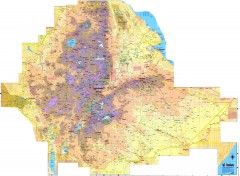 Ethiopia Elevation Map