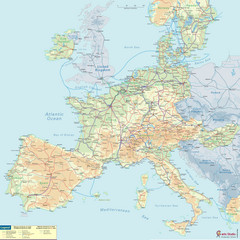 European Railway Map