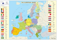European Union Member States Map