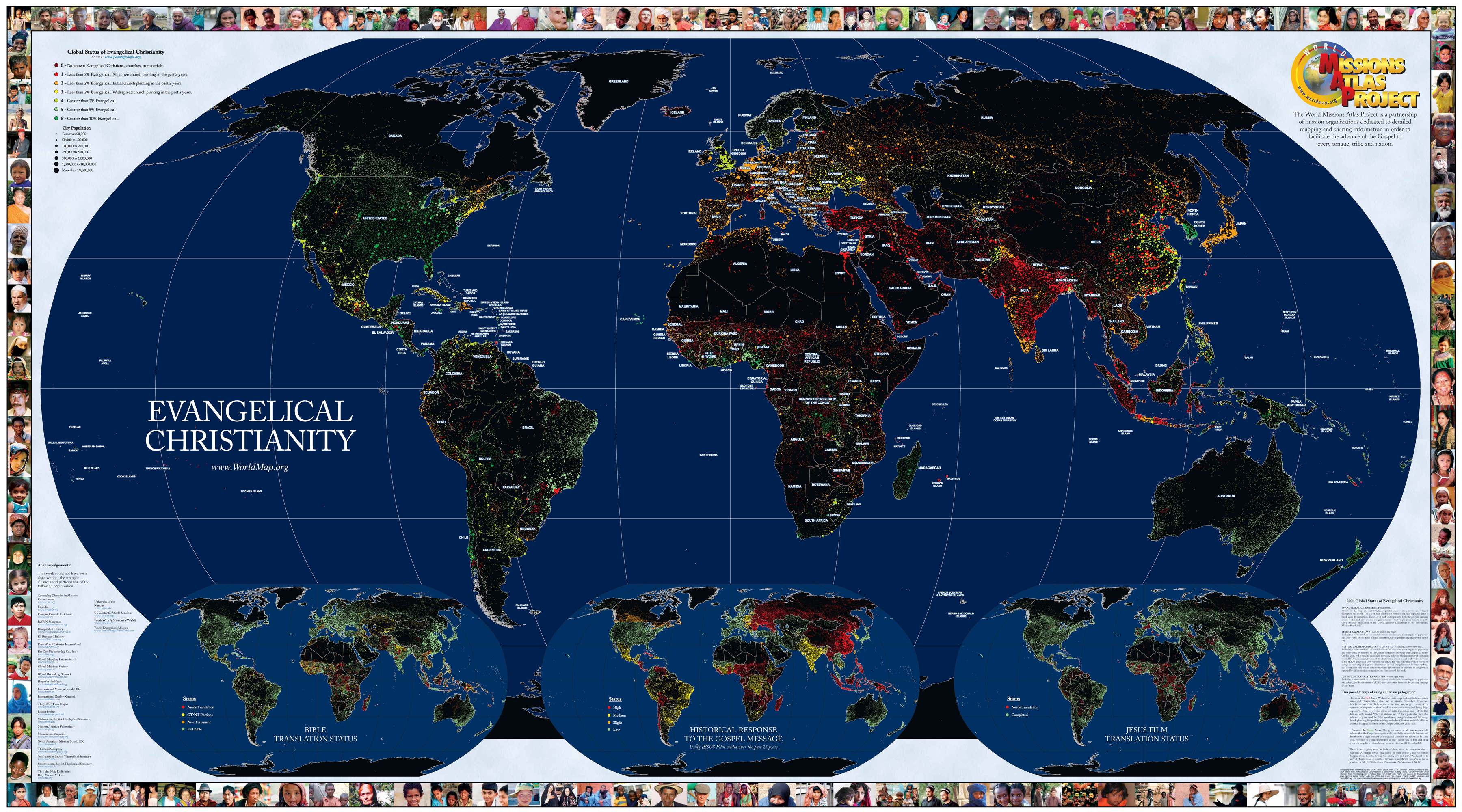 Evangelical christianity world map world mappery gumiabroncs Images