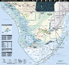 Everglades National Park Map