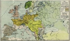 Extinction of France Map 1918