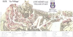 Eze le Village Map