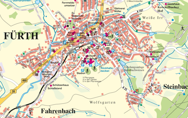 Nuremberg Tourist Map Nuremberg Germany mappery – Nuremberg Tourist Map
