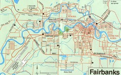 Fairbanks Alaska Map