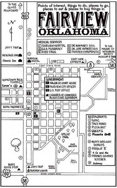 Fairview City Map