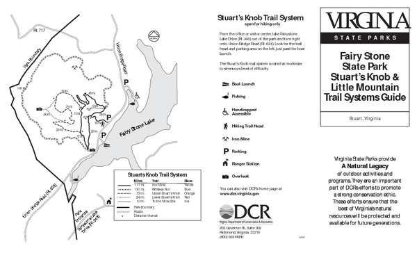 Fairy Stone State Park Map