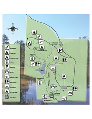 Falling Waters State Recreation Area Map