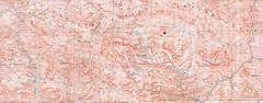 Fan Mountains Topo Map