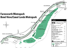 Farnsworth/Bend View Metropark Map