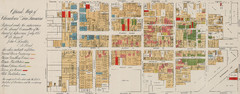 Farwell's Map of Chinatown in San Francisco...