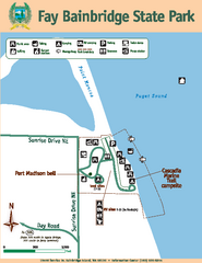 Fay Bainbridge State Park Map