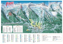 Fernie Mountain Trail Map