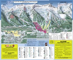 Fernie Ski Trail Map