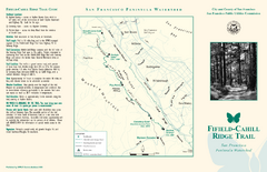 Fifield-Cahill Ridge Trail Map