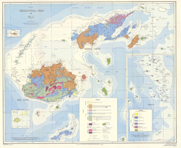 Real life map collection mappery fiji geological map gumiabroncs Gallery