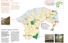 Finnmark Nature Parks and Reserves Map