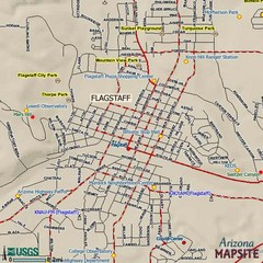 Flagstaff, Arizona City Map