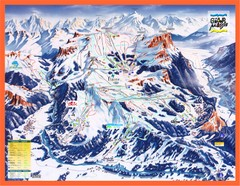 Flaine Map