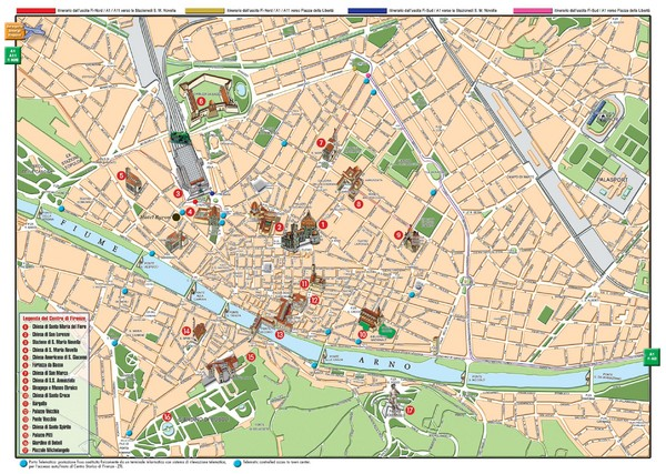 Florence maps mappery – Tourist Map Of Florence Italy